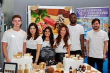 Students from LJMU's Business School cleaned up with a hat-trick of awards thanks to their ethical soap business.