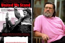 The Lantern Theatre is the setting for 'United We Stand', a play centred around a strike involving Ricky Tomlinson.