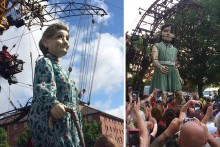 The Giants Spectacular is back in Liverpool for a third time, but Merseyrail station closures are set to hit travel plans.