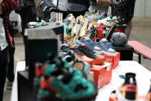 The first ever trainer festival to be held in Liverpool celebrated the love of sports sneakers for wearers across the city.