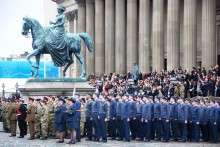 Liverpool will fall silent for the city's annual Remembrance  tributes this weekend.