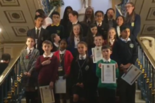 Civic pride was shown by the leaders of tomorrow at the inauguration of Liverpool's Junior and Young Lord Mayors.