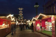 Liverpool's festive Christmas markets have re-opened again outsiide St George's Hall.