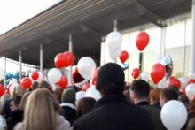 The residents of Prescot are standing up and showing solidarity in the wake of recent tragic events.