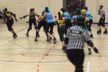 JMU Journalism visits the Liverpool Roller Birds, who compete in the action-packed contact sport, roller derby.