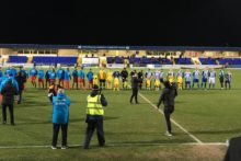 Chester FC hosted a much-needed fundraiser match for their fight to keep their club alive.