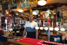 A bar that was boarded up five years ago has won a prestigious pub of the year award.