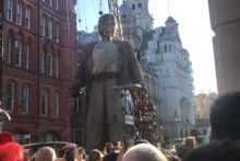 The 'Liverpool's Dream' Giants Spectacular attracted more than a million people to the three-day show on Merseyside.