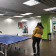The re-launch of a free and popular scheme is offering table tennis fans the chance to have fun.