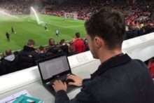 JMU Journalism reports from Anfield as Liverpool take on Red Star Belgrade in the UEFA Champions League.