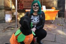 Dogs of all shapes and sizes were dressed up in scary style at the annual Howl'Oween Puppy Parade.