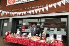 Fazakerley Community Library was transformed into a Christmas market with stalls and treats on offer.