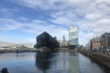 A new ferry terminal for ships heading to the Isle of Man will be opening up on Liverpool's waterfront.
