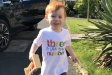 A three-year-old boy born with a rare cardiac condition is inspiring people to help others in a similar situation.