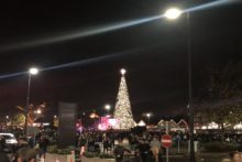 The countdown to the festive period started at Cheshire Oaks with a Christmas lights switch-on.
