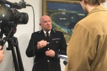 Merseyside Police Chief Constable Andy Cooke admits that cuts to the service are affecting its ability to respond to crime.