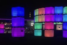 A new light installation inspired by Liverpool's culture has launched in the city.