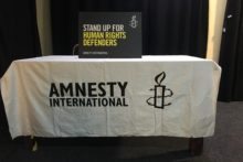 Human rights issues were shared when the Liverpool branch of Amnesty International held a storytelling event.