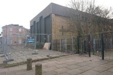 Work has begun to convert a disused church into new homes in Kirkdale.