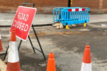 Commuters have been dealing with heavier traffic as construction work starts on a major route in the city.