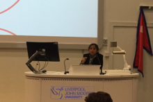 Two inspirational activists from Nepal came to Liverpool to describe the difficulties women face in their homeland.