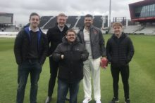 Sports Journalism students had the chance to go behind the scenes at Lancashire Cricket Club's media day.